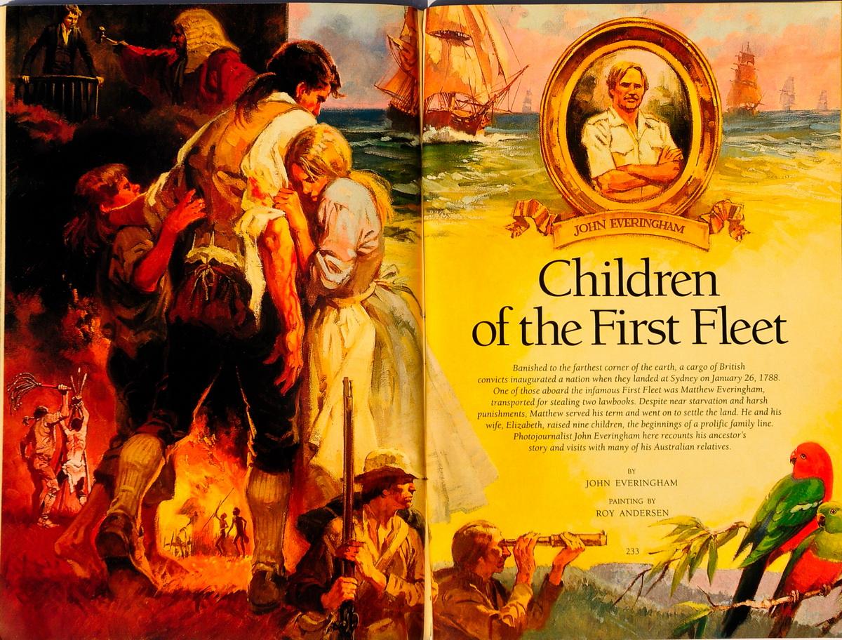 First fleet for children
